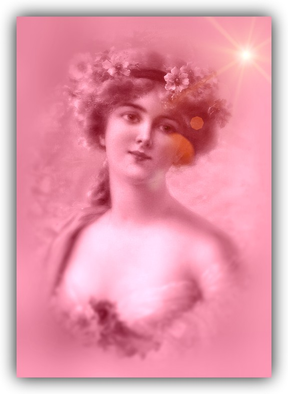 Vintage Lady 3 by RedJello67
