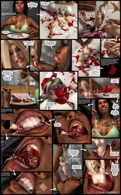 Revenge Time - (F/F Hard Vore) part 5/6 by femaleteeth