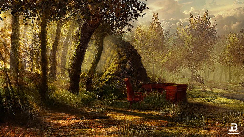 Lost momeries - Studio by LycanosArt