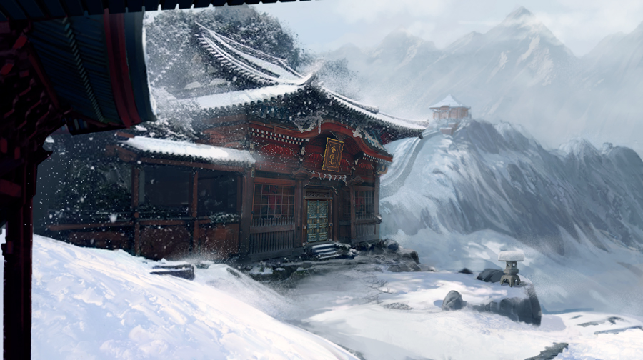 Tample of Ronin by LycanosArt
