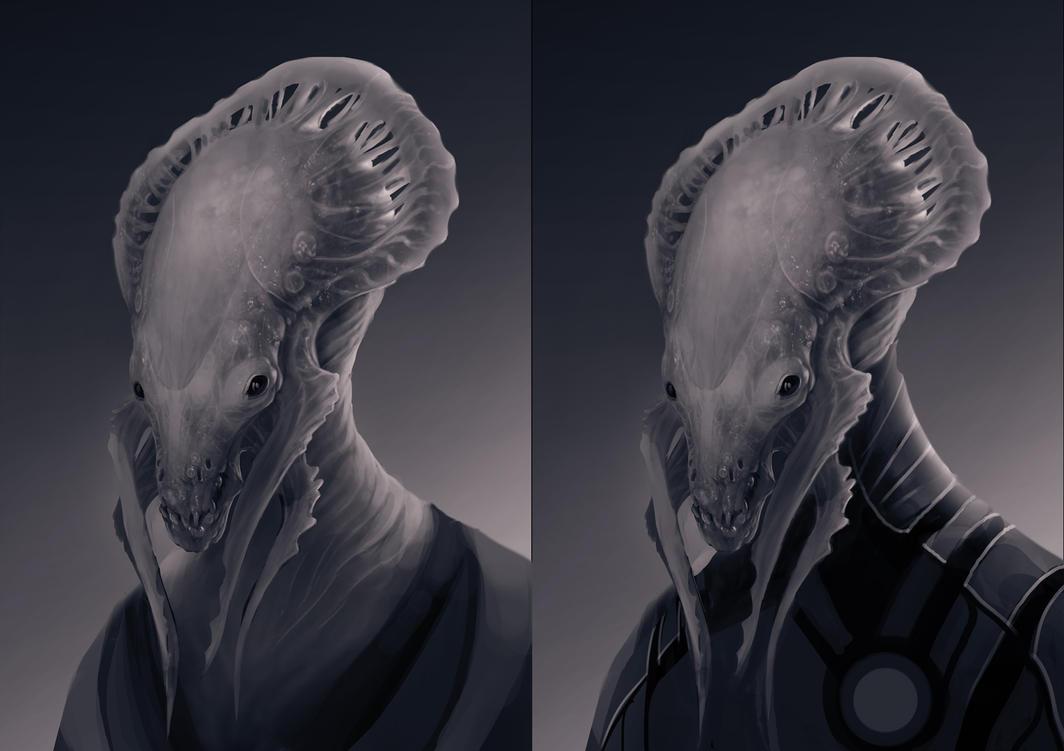 Creature Exploration by LycanosArt
