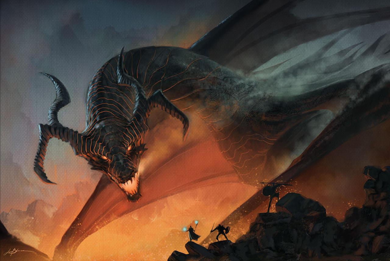 dragon - Lord of Magma