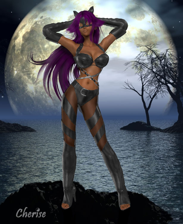 bleach catwoman