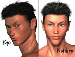 The Twins: Kyo and Keitaro