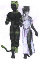 Walk With the Gods by AerisVampire