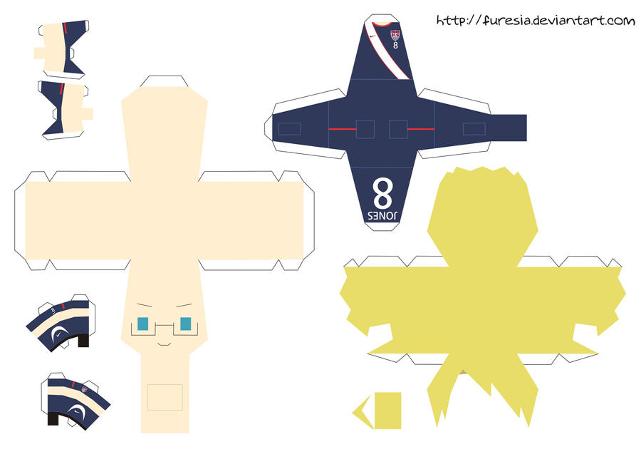 papercraft - America World Cup by Furesia