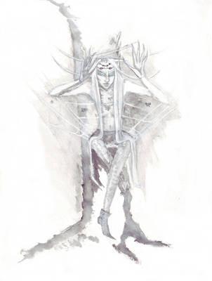 White Fomorian 2 by DevilsDandyDog
