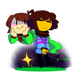 Stay DETERMINED by 00TheInkJester00