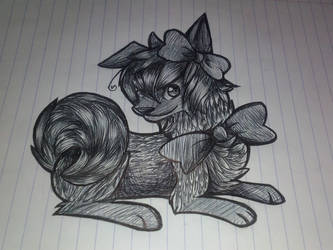 Pen Drawing by souleaterloverforeva