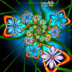 Loving Flowers by magnusti78