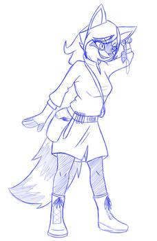 CrazyMeliMelo - Raccoon Adventurer