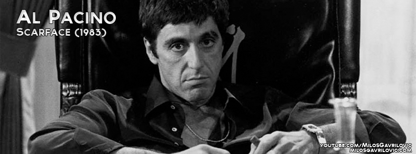 Al pacino scarface facebook cover by gawrey on deviantart for Occhiali al pacino scarface