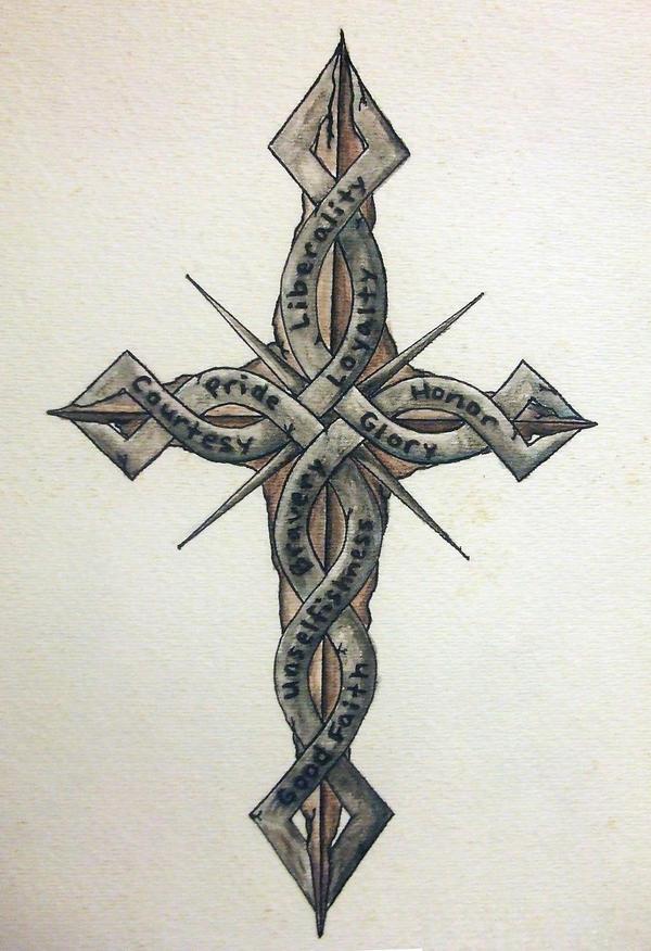 http://img00.deviantart.net/f61a/i/2009/199/e/2/cross_of_chivalry_by_fireflyskys.jpg Cross Tattoo Drawings In Pencil
