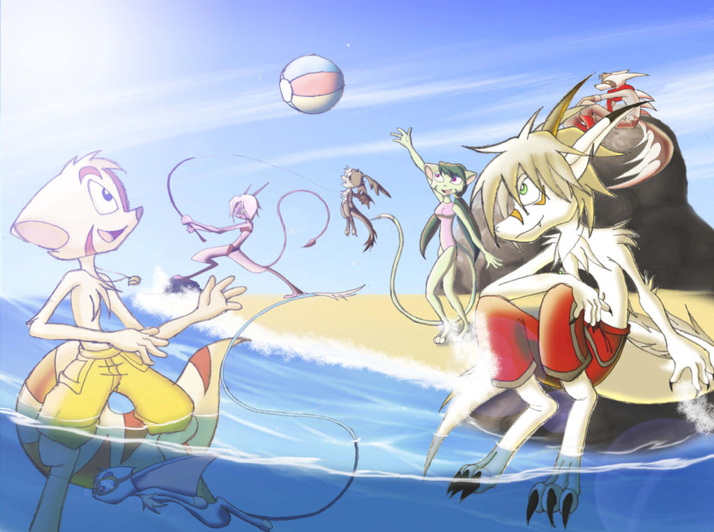 under the sunligh by DragonJuno