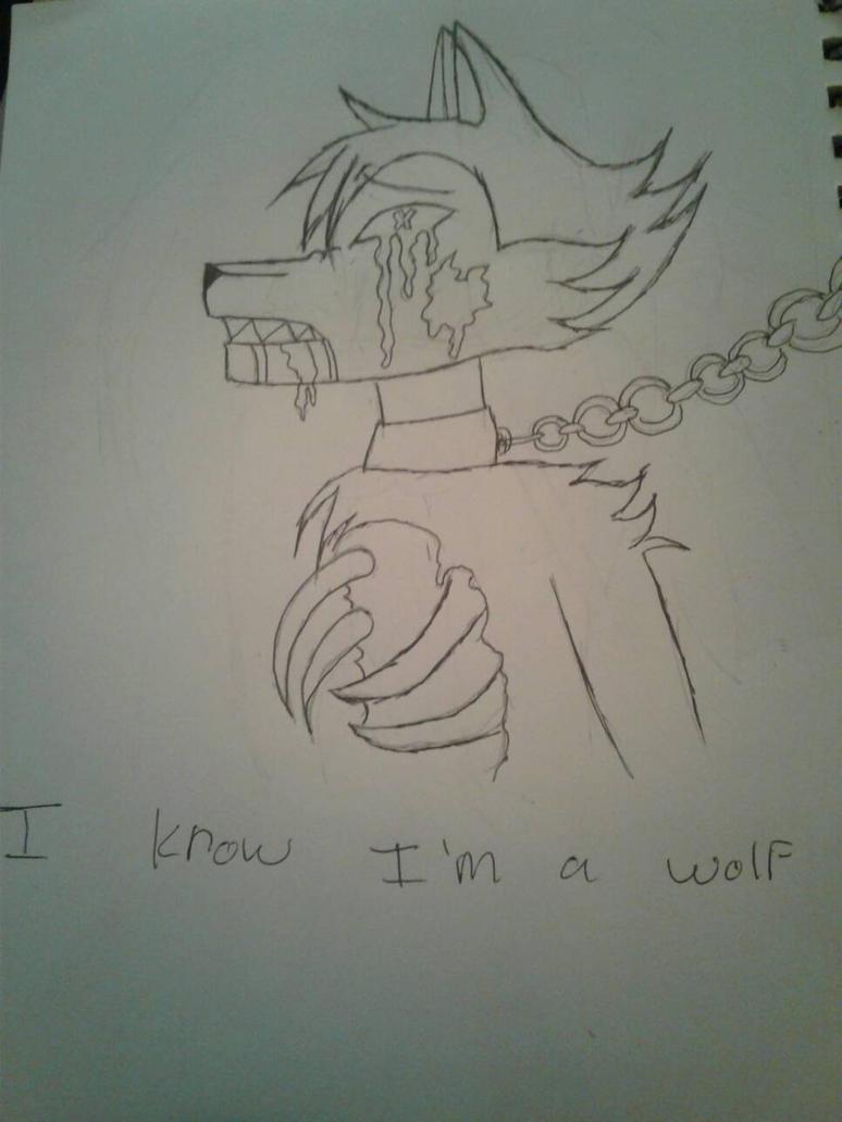 I know I'm a wolf  by dasanymartinez72z123