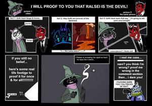ralsei is the bad guy