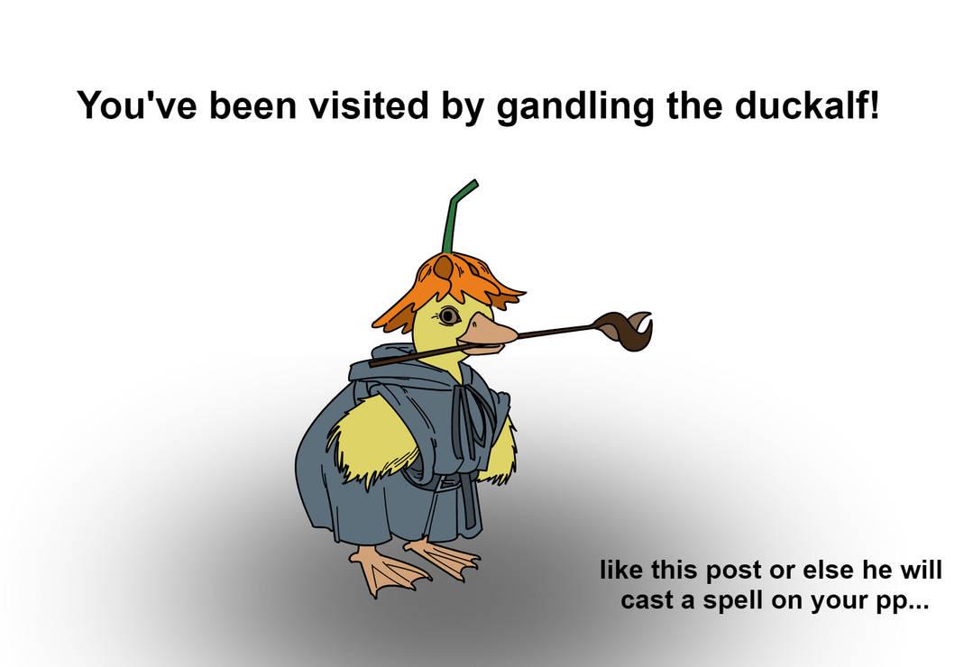 Gandling The Duckalf