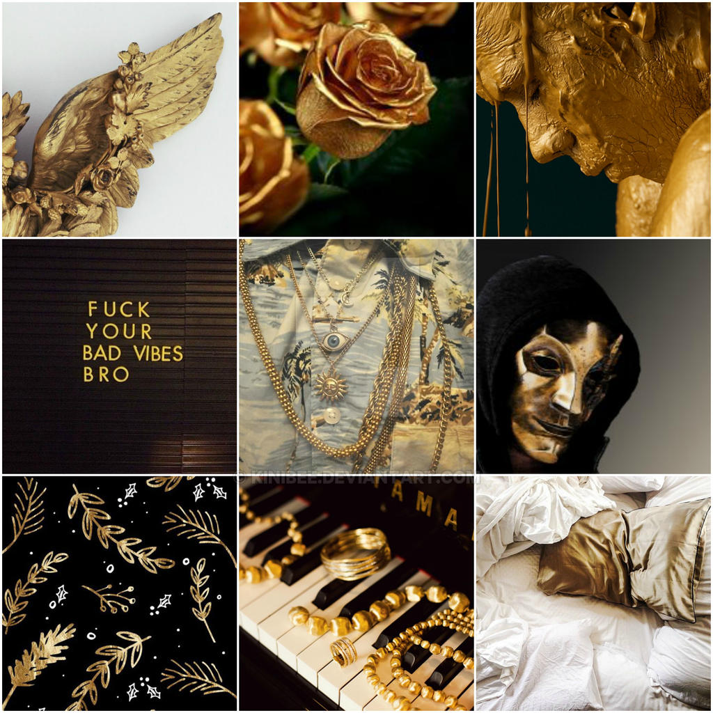 Gold Aesthetic (closed ty) by kiniBee on DeviantArt