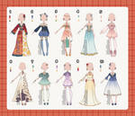 Fantasy Outfit Adopts [SALE]