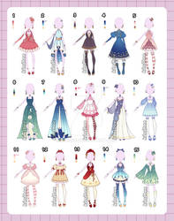 Fantasty Outfit adopts [closed]