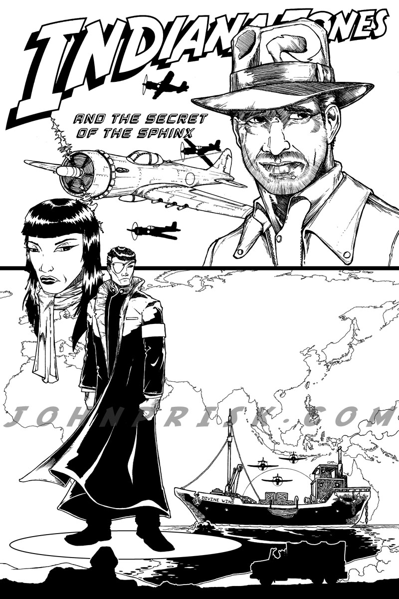 indiana jones 4 coloring pages - photo#33