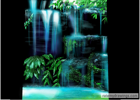 Feelings waterfall by Addicted2disaster
