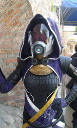 Tali Zorah (Mass Effect) cosplay by Cinnamon-Cosplay