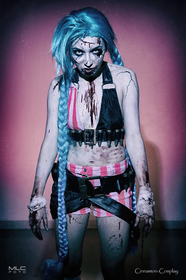 Zombie Jinx by Cinnamon-Cosplay
