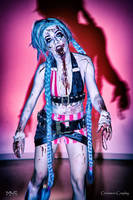 Jinx Zombie cosplay by Cinnamon-Cosplay