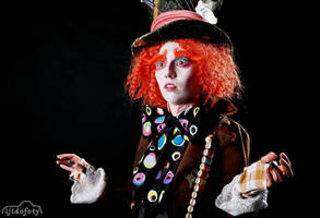 Mad Hatter Cosplay by Cinnamon-Cosplay