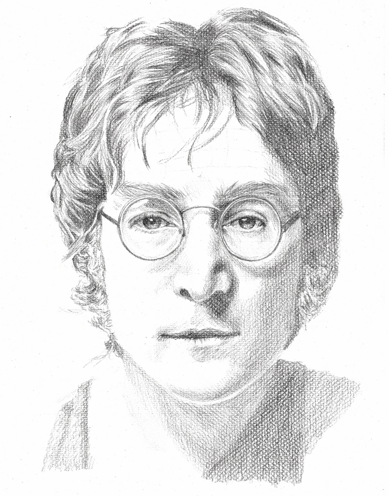 Line Drawing John Lennon : John lennon by annocent on deviantart