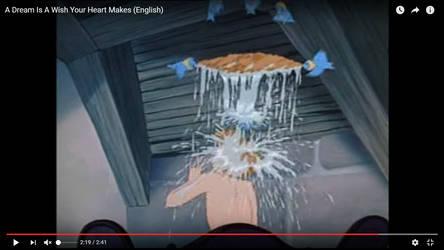 Sexy Cinderella Naked Bird Bath by IA3
