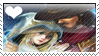 Stamp - Ashe x Twisted Fate by lightvanille