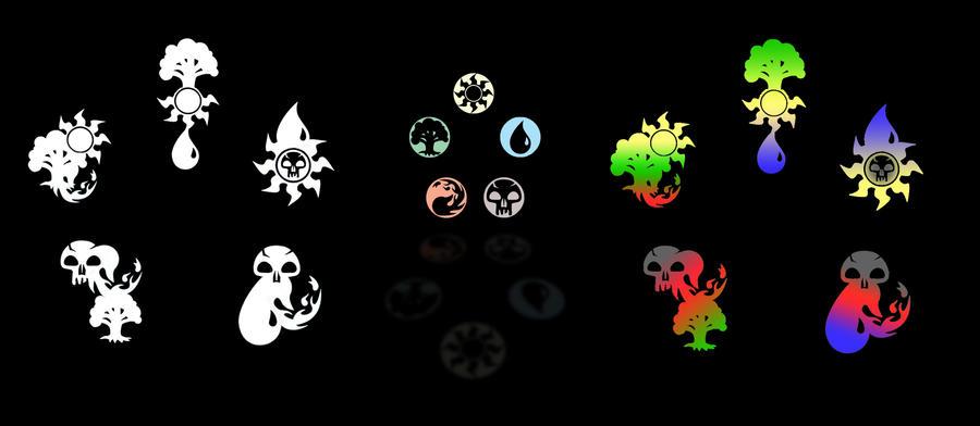 Alternative Mana Symbols 2 By Ekoki On Deviantart