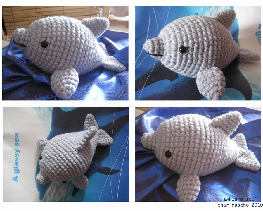 Amigurumi Dolphin Free : - Dolphin Amigurumi - by awkwardsoul on DeviantArt