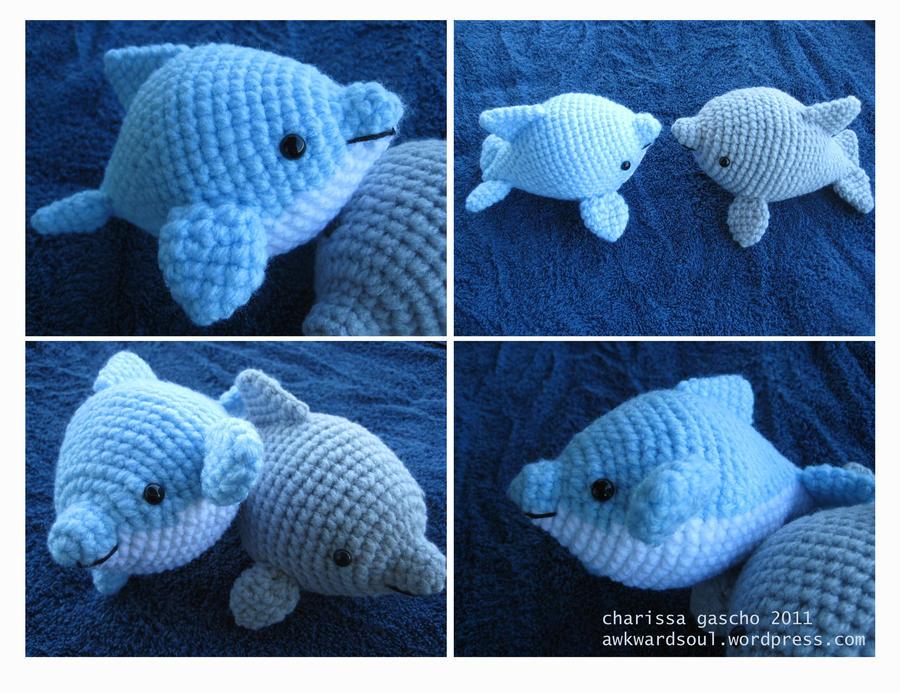Amigurumi Dolphin Free : - Dolphin Amigurumi round 2 - by awkwardsoul on DeviantArt