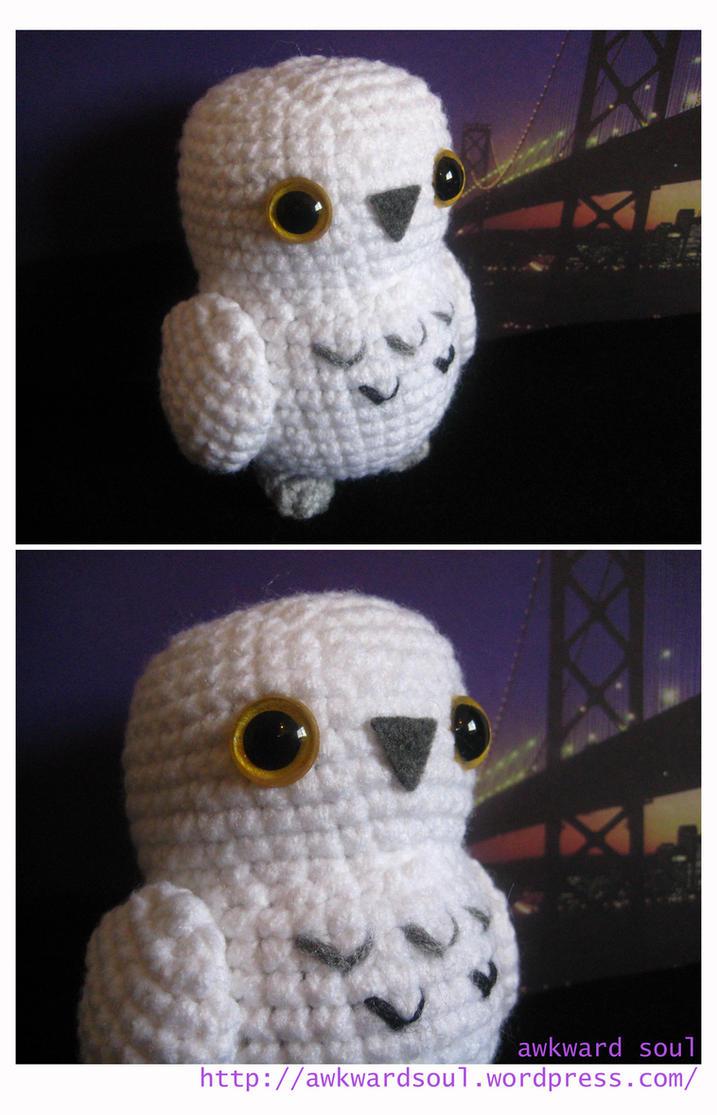 Wire Soul Amigurumi : - Snowy Owl Amigurumi - by awkwardsoul on DeviantArt