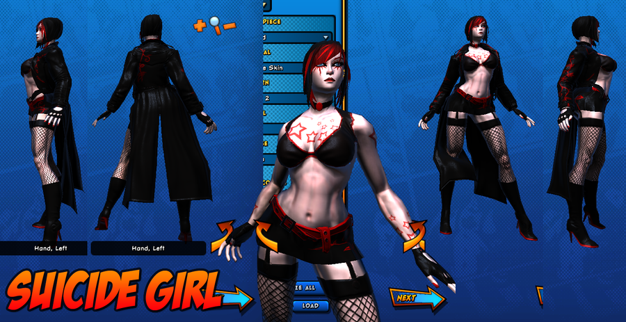 Suicide Girl - Costume Ref 01 by Agent-Foo