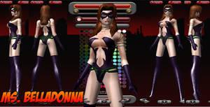 Ms. Belladonna - Costume ref 1