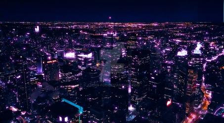 Cyberpunk Toronto