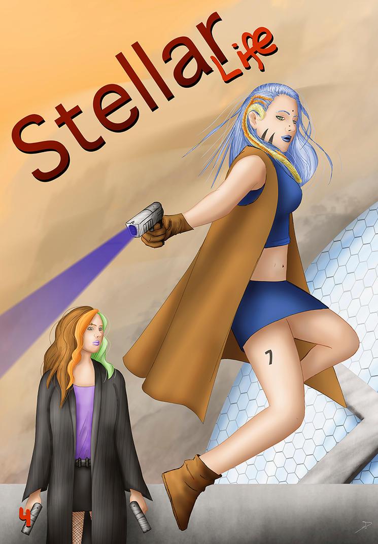 Stellar life 4 cover by VICTORSAENZBARRON