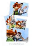 Zootopia, Nick and Judy selfie