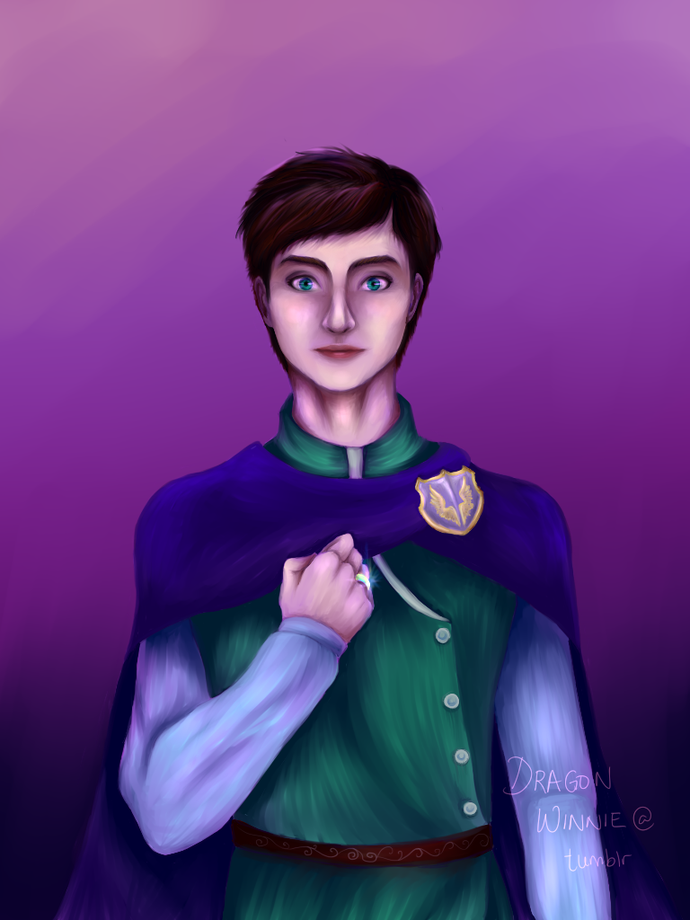 Fitz Vacker Potrait by DragonWinnie