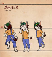 Moster Story: Amelia by CountDraggula