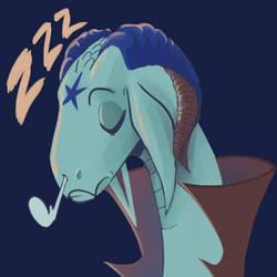Daily Doodle: Sleepy Dragon
