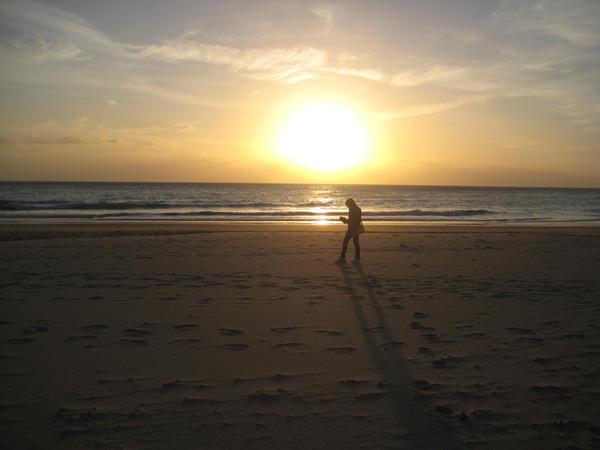 Sunset at Cadiz