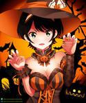 Ruka Sarashina- Happy Halloween