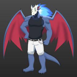 Darkflame Dragon - [Trade for Korouxus] by Shaidz