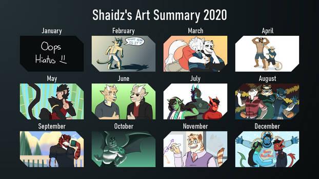 Art Summary: 2020
