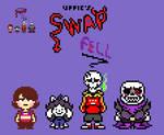 uppie's Swapfell Cast Overworld Sprites